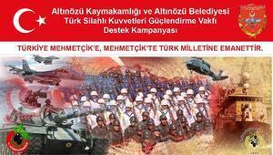 Altınözü'nde TSK Güçlendirme Vakfı'na Destek Kampanyası