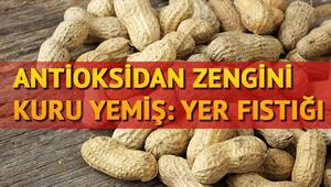 Antioksidan zengini kuru yemiş: Yer fıstığı