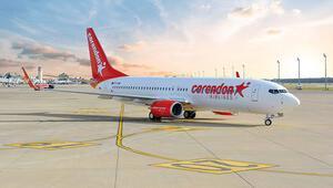 17 uçakla 3 milyon turist taşıyacak