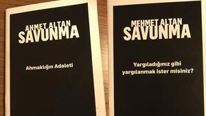 Altan kardeşler savunmalarını kitap yaptılar