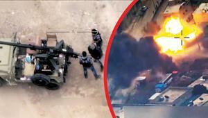İHA gördü F-16 yok etti