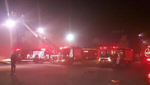 CNR Expo Fuar Merkezinde yangın