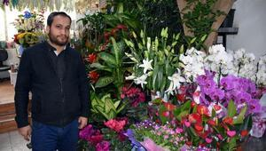 Sivasta çiçekçilerde 14 Şubat yoğunluğu