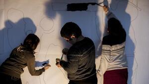 Engelli çocuklar sanatla buluşuyor