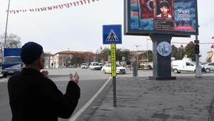Sivasta 14 Şubatta sevgilimiz Mehmetçik olsun kampanyası
