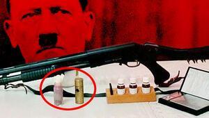 Ekipler alarma geçti Hitlerin gizli silahı kırmızı cıva ele geçirildi