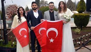 Kahramanmaraşta 30 çift için Sevgililer Gününe özel nikah töreni