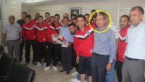 Spor kulübü başkanı rüşvetten tutuklandı