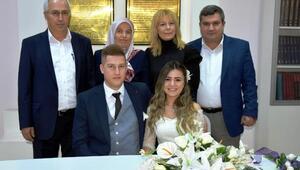 Komiser yardımcısı 14 Şubatta evlendi