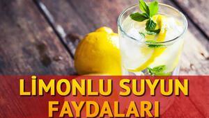 Limonlu suyun faydaları nedir Limonlu su zayıflatır mı