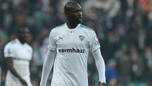 Bursasporda Moussa Sow, Galatasaray maçına yetişecek