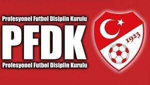 PFDK kararları açıklandı Galatasaray...