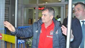Beşiktaş kafilesi Konyada coşkuyla karşılandı