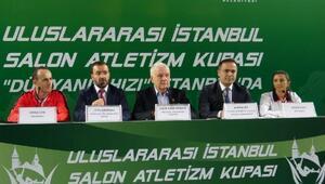Uluslararası İstanbul Salon Atletizm Kupasının basın toplantısı yapıldı
