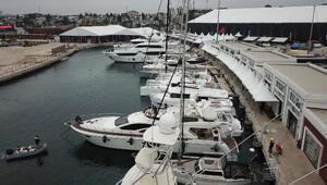 Boatshowda toplam 800 milyon lira değerindeki tekneler sergilenecek