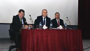 Vali Ata'dan Zeytin Dalı Harekatı bilgilendirme toplantısı