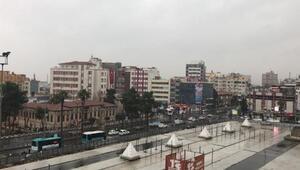 Şanlıurfa'da sağanak yağış