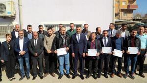 Silopide 150 kursiyere, girişimci sertifikası verildi