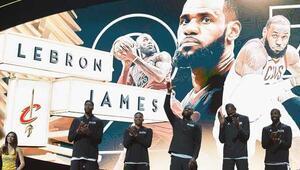NBA All-Star maçını LeBron Jamesin takımı kazandı MVP...