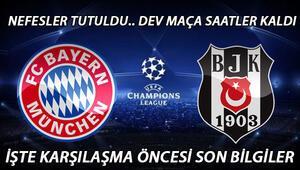 Bayern Münih Beşiktaş maçı saat kaçta ve hangi kanalda