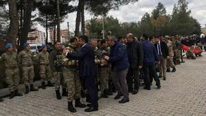 Diyarbakırda 64 güvenlik korucusu Afrine uğurlandı