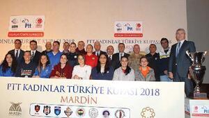 PTT Kadınlar Türkiye Kupasının basın toplantısı yapıldı