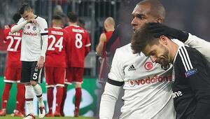 Beşiktaş, Münihte ağır yaralı 5 gol...