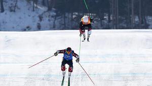 2018 Kış Olimpiyatlarında Kanadalı Brady Leman rüzgarı