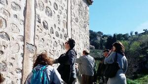 Mimarlardan tarihi Sandıma Köyünde inceleme