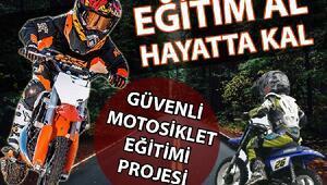 """Umurbey Belediyesi'nden """"Güvenli Motosiklet Eğitimi"""" projesi"""