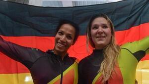 Kadınlar bobsled finalinde altın madalya Almanların