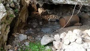 Şırnakta sığınak içerisinde 30 kilo patlayıcı ele geçirildi