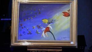 İçişleri Bakanı Süleyman Soylunun yaptığı resim 500 bin liraya satıldı