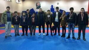 Alpullu Şekerspor Güreş Takımı, 9 derece elde etti