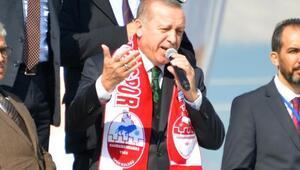 Erdoğan: Bizim kanımızda sivilleri vurmak yok ama sizin kanınızda var (2)