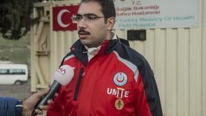 15 Temmuz gazisi sağlıkçılar, Mehmetçik için gönüllü olarak sınırda