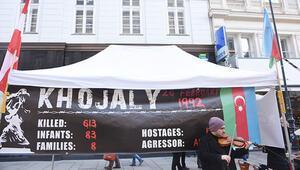 Viyana'da 'Hocalı için adalet' istediler