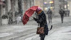 Hava durumu bugün nasıl olacak İstanbula kar ne zaman yağacak