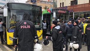 Fenerbahçe taraftarına uyarı: Otobüsün camlarını kırmayın