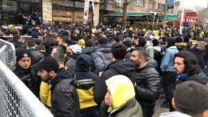 Fenerbahçe taraftarının derbi yolculuğu başladı