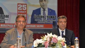 CHPli genel başkan yardımcılarından Antalyada konferans