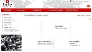 Boydak Holding'de yönetim yeniden değişti