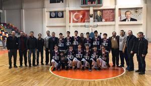 GKVli basketçiler bölge şampiyonu
