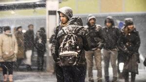 İstanbulda kar yağışı bugün başladı - Yarın kar yağacak mı