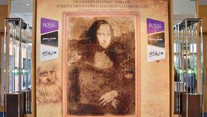 Mona Lisa halı da oldu