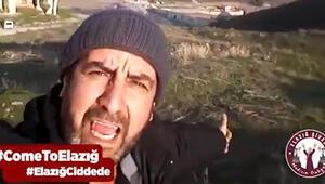 Şelale videosuyla fenomen olan adamdan yeni video: Come To Elazığ
