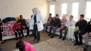 Silopi'de engelli öğrencilere ağız ve diş sağlığı taraması