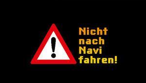 Alman polisi sürücüleri uyardı: Navigasyona körü körüne uymayın