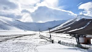 Vanın kayak merkezi sezonu açamadı