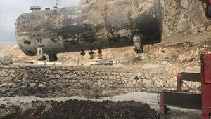 Vanda 1 ton 870 litre kaçak akaryakıt ele geçirildi